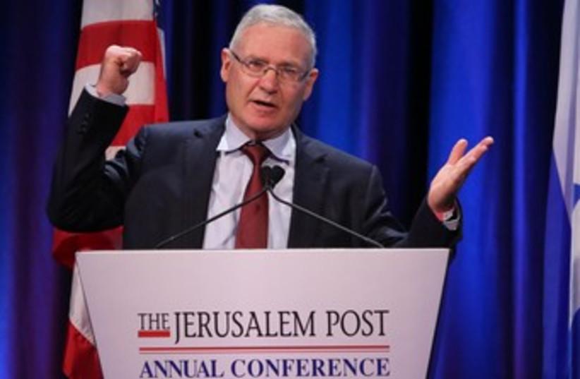 Amos Yadlin 370 (photo credit: Marc Israel Sellem/The Jerusalem Post)
