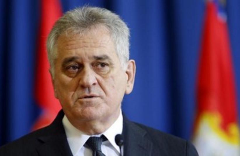 Serbian President Tomislav Nikolic 370 (photo credit: REUTERS/Marko Djurica)