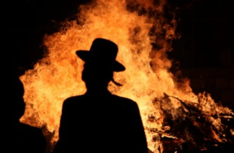 Lag B'aomer (photo credit: Marc Israel Sellem/The Jerusalem Post)