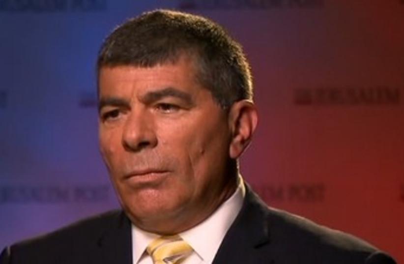 Former IDF chief of staff Lt.- Gen. Gabi Ashkenazi 370 (photo credit: Screenshot CNN)