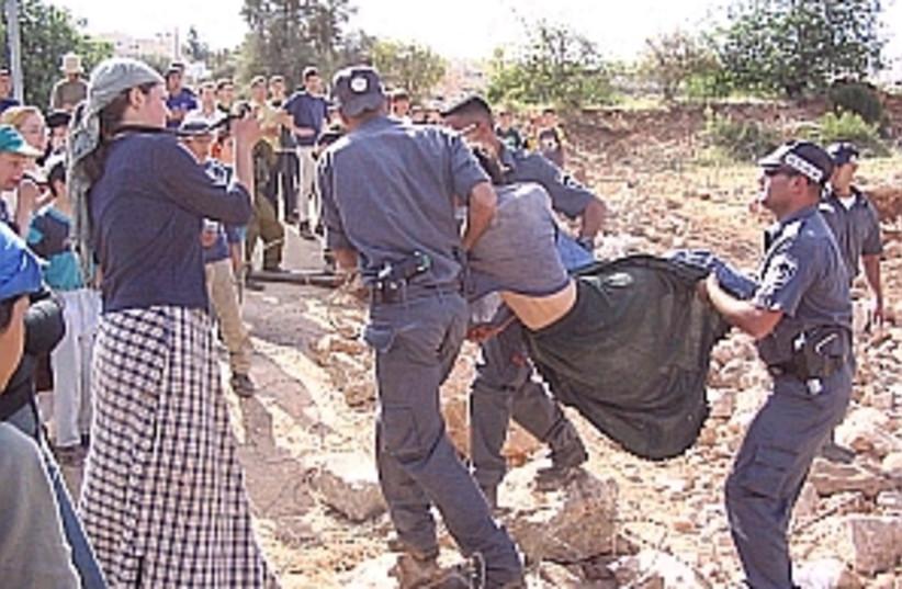 outpost evacuation 298 (photo credit: Jewish Community of Hebron [file])