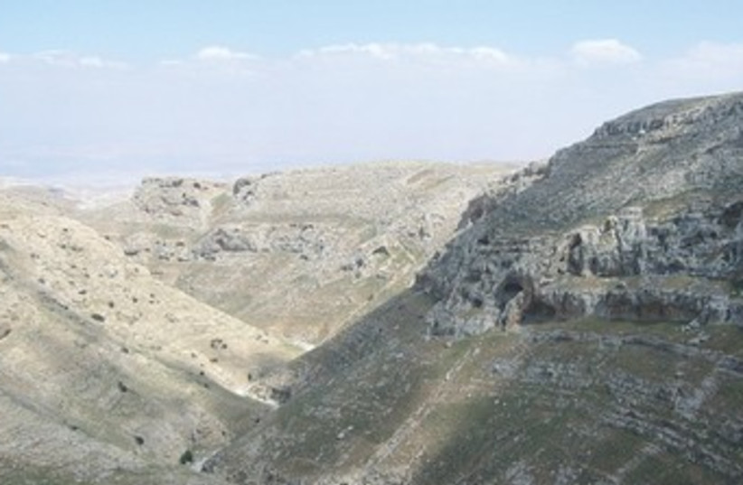 THE NAHAL MAKOCH Nature Reserve 370 (photo credit: Roee Simon/SPNI)