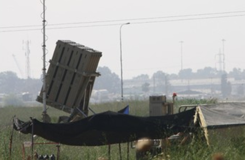 Iron Dome battery 370 (photo credit: Ben Hartman)