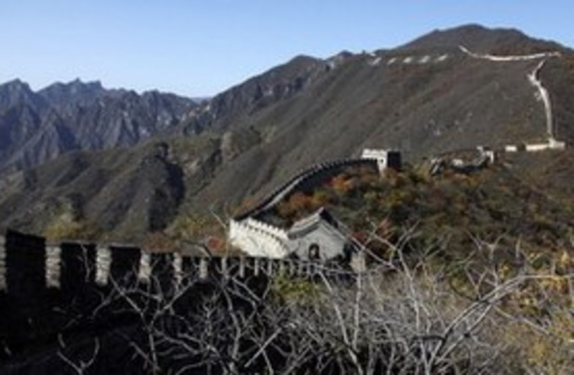 Great Wall of China_300 (photo credit: Reuters)