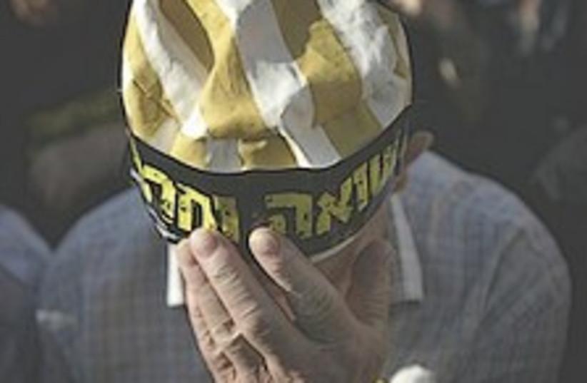 Holocaust survivor 224 (photo credit: AP)