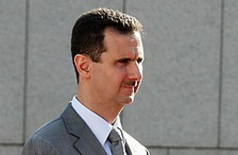 Bashar Assad 224.88 (photo credit: AP)