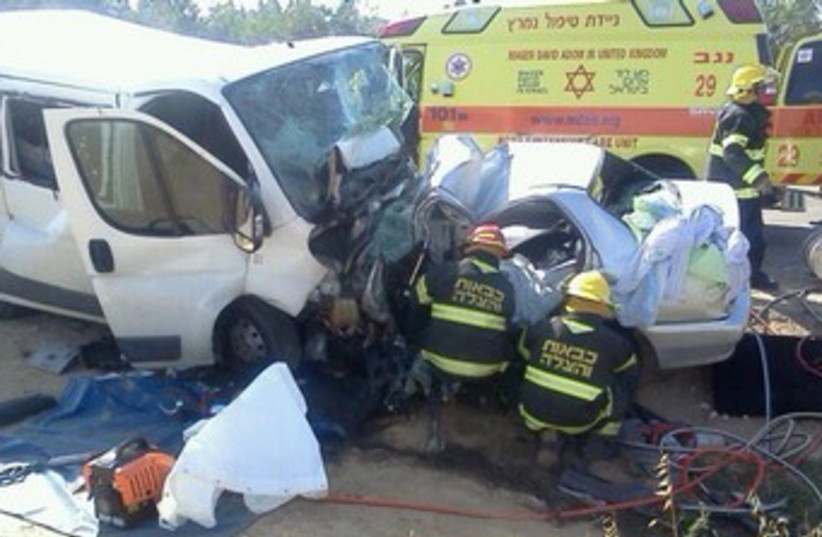 Traffic Accident 370 (photo credit: Courtesy Israel Police)