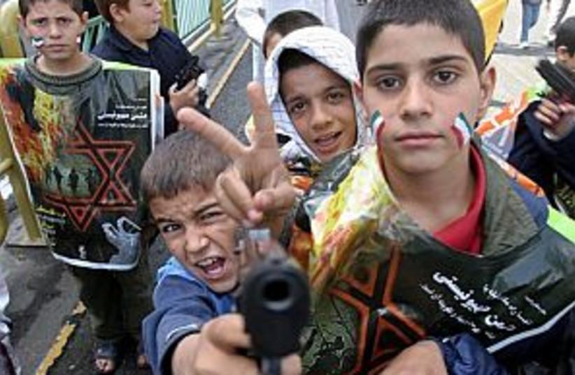iran anti israel 298 (photo credit: AP)