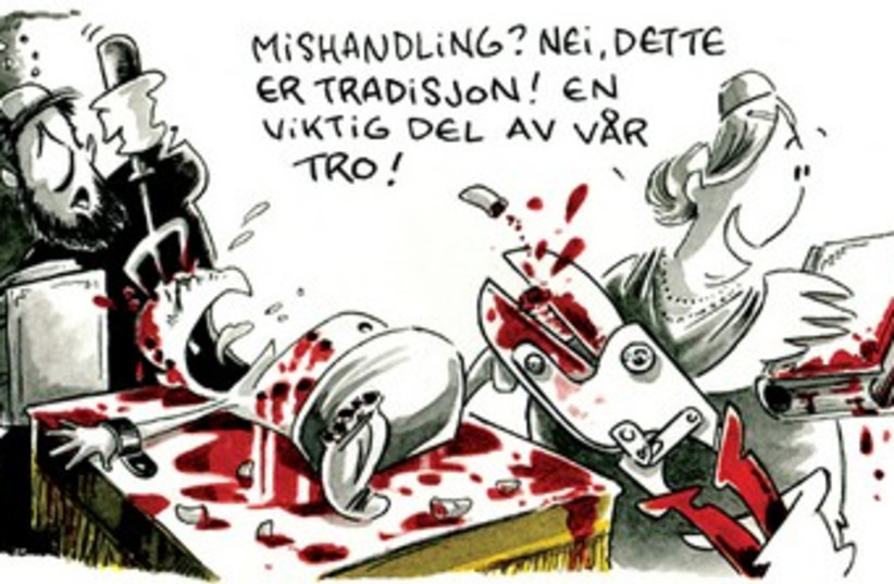 Dagbladet cartoon 370 (photo credit: Dagbladet)