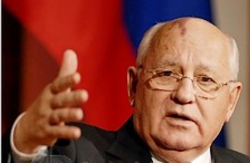 gorbachev 224.88 (photo credit: AP)