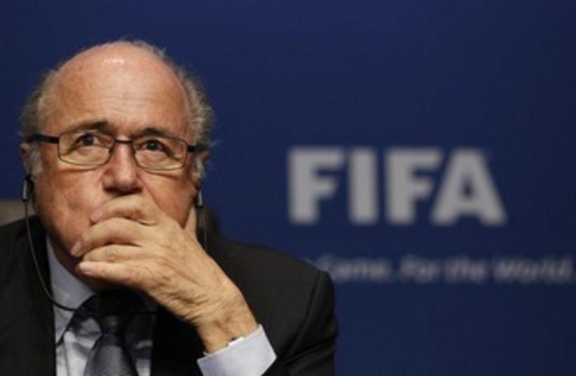 FIFA President Sepp Blatter 370 (photo credit: REUTERS/Michael Buholze)