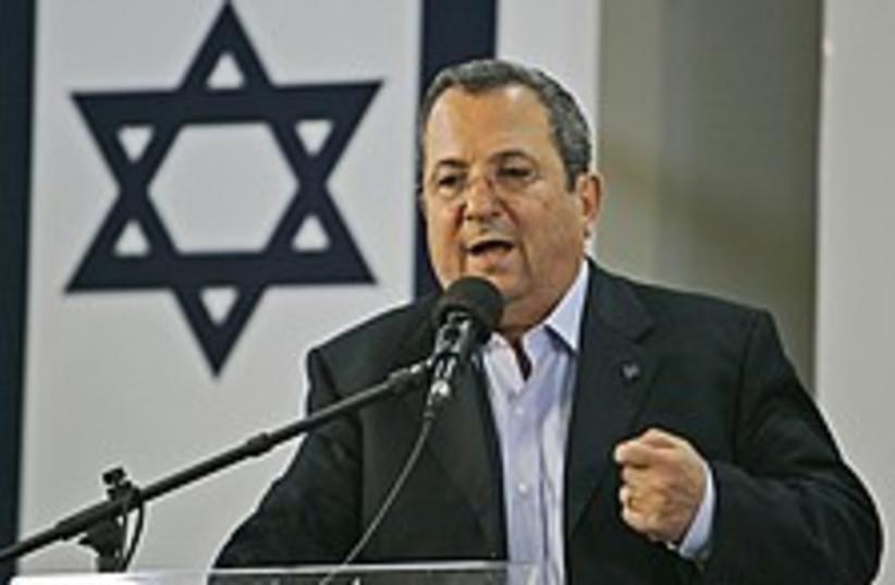 ehud barak 224.88 (photo credit: AP [file])