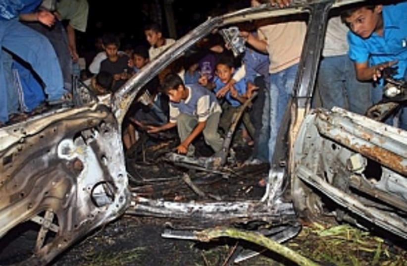 car blown up 298 88 ap (photo credit: AP)