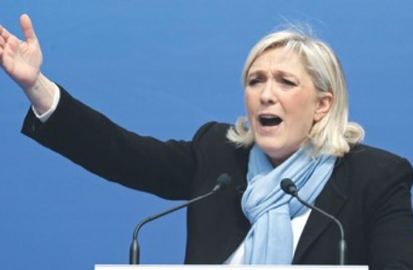 MARINE LE PEN 370 (photo credit: Charles Platiau/Reuters)
