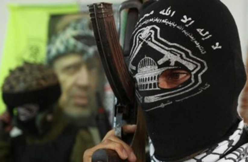 Al-Aqsa Martyrs Brigades 370 (photo credit: REUTERS/Nayef Hashlamoun )