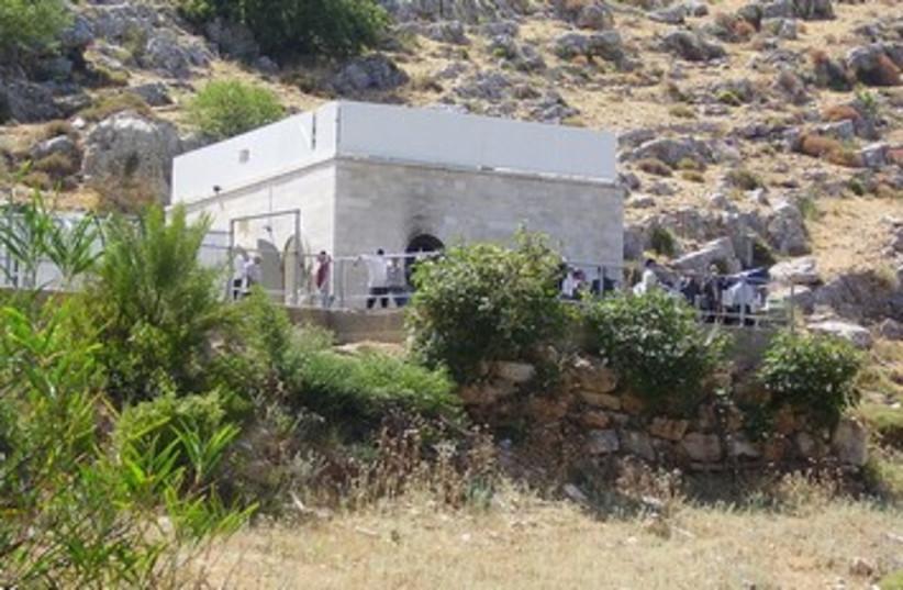 Yonatan Ben Uziel grave 370 (photo credit: Wikimedia Commons)