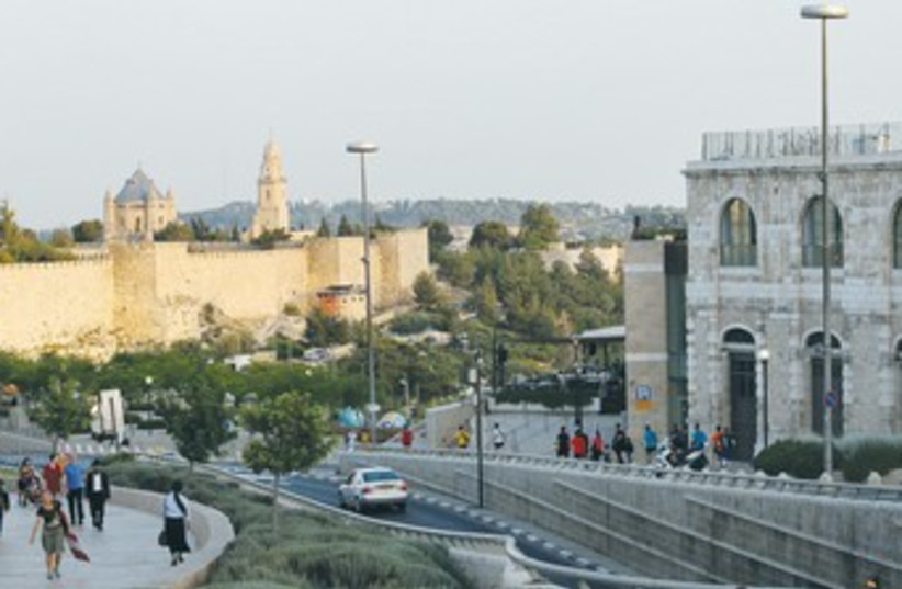 View of Jerusalem 370 (photo credit: Marc Israel Sellem/The Jerusalem Post)