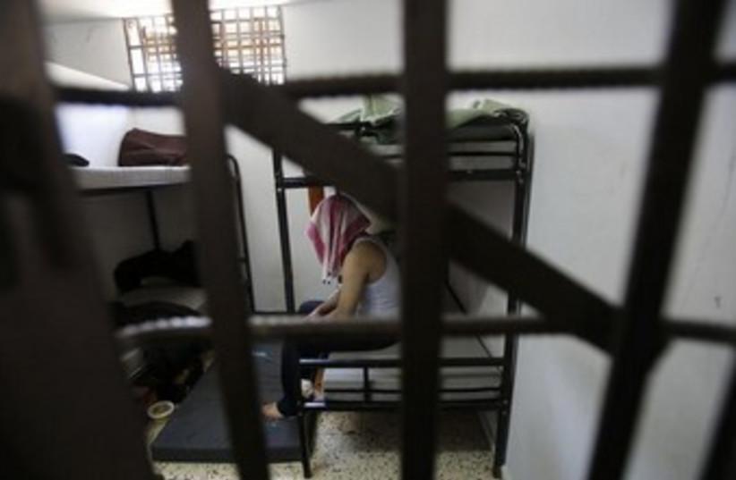 Palestinian prisoners in Hamas jail 370 (photo credit: REUTERS/Suhaib Salem )