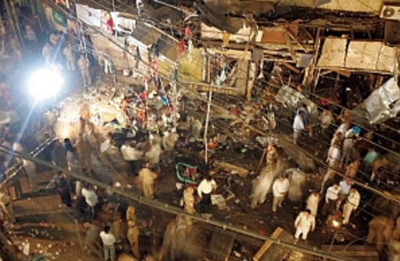 india market blast 298 (photo credit: AP)