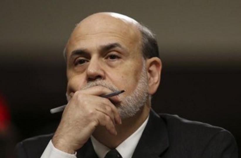 Ben Bernanke 370 (photo credit: REUTERS/Gary Cameron)