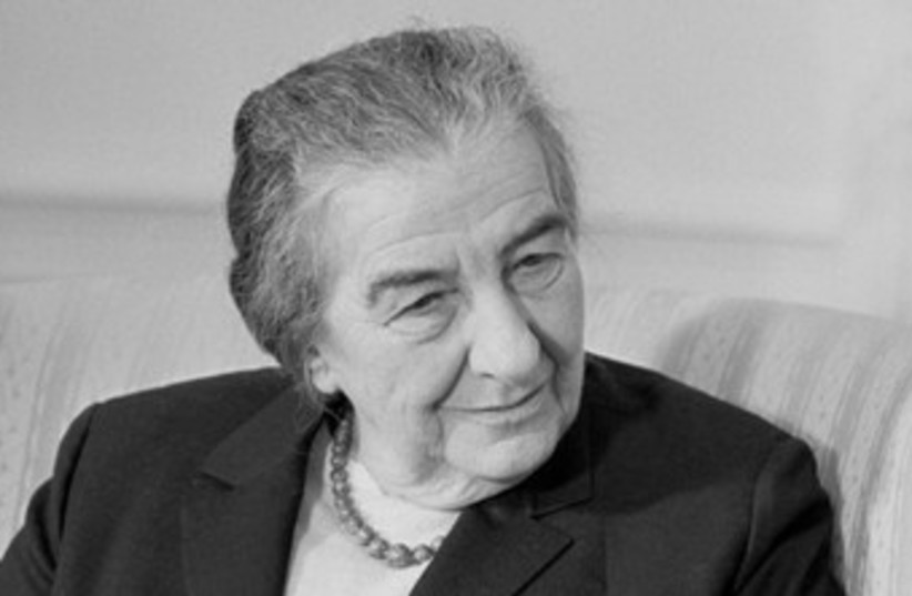 Golda Meir 370 (photo credit: Wikimedia Commons)
