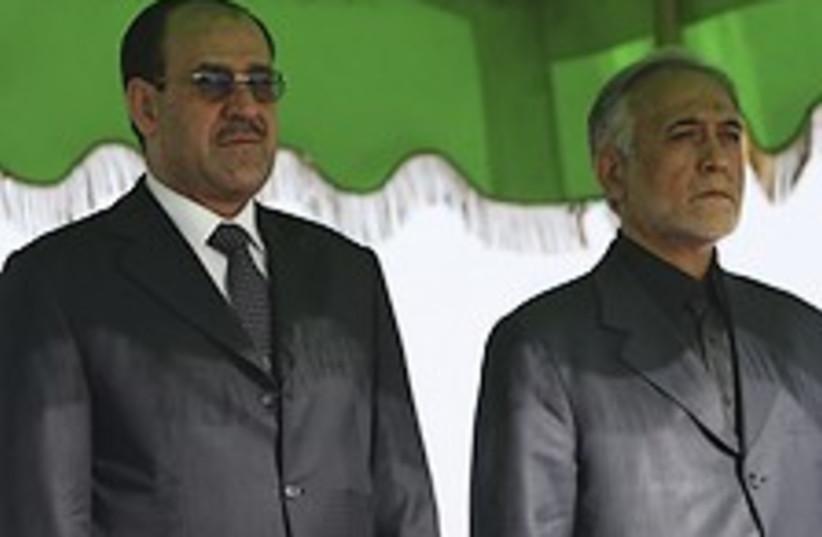 Maliki Iran 224.88 (photo credit: AP [file])