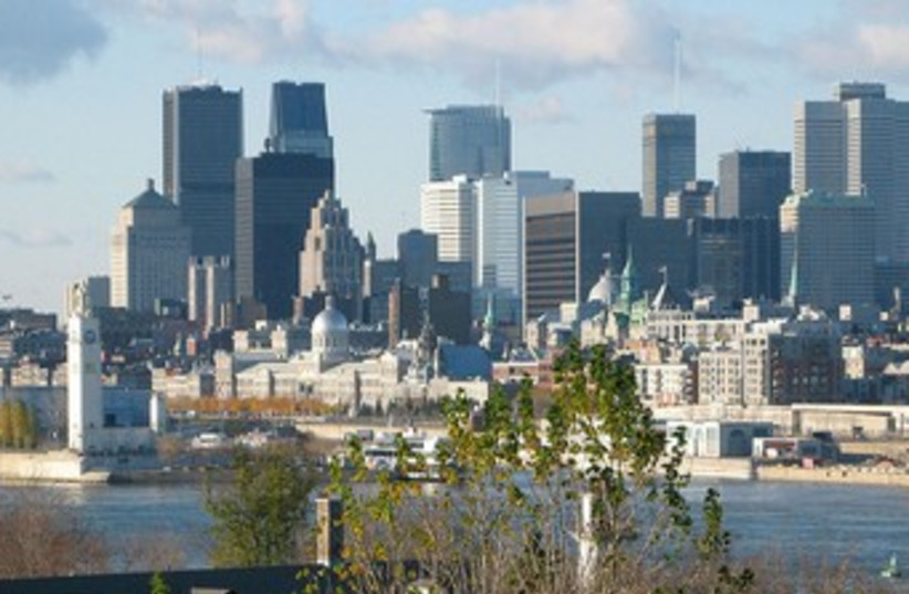 Montreal skyline 370 (photo credit: wikimediacommons)