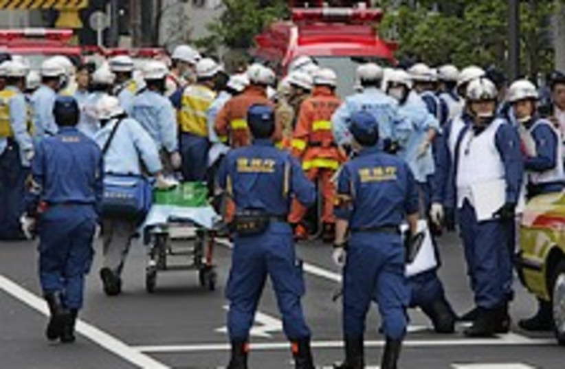 Japanese stabbing 224.88 (photo credit: AP)