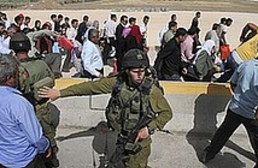 hawara checkpoint (photo credit: )