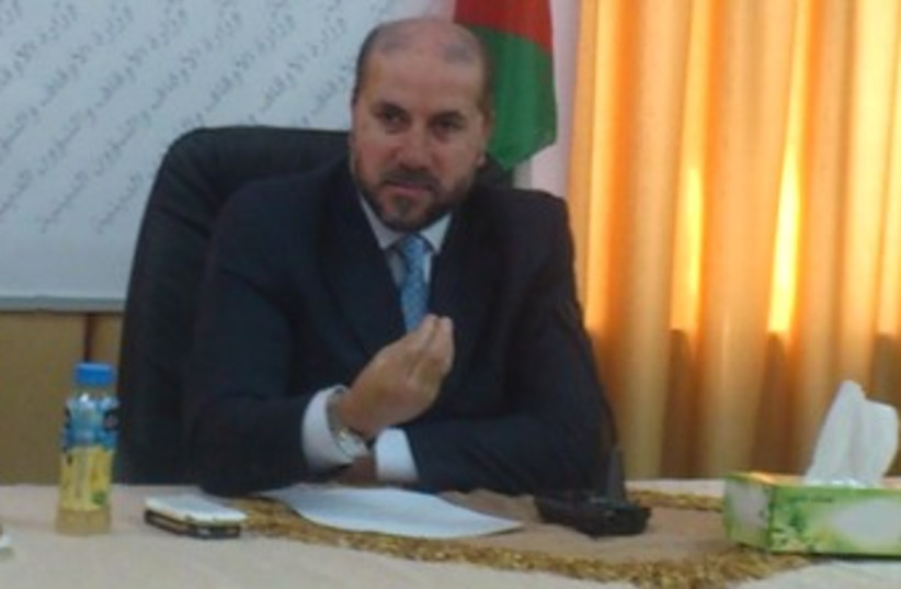 PA Religious Affairs Minister Mahmoud El Habash 370 (photo credit: Gil Hoffman)