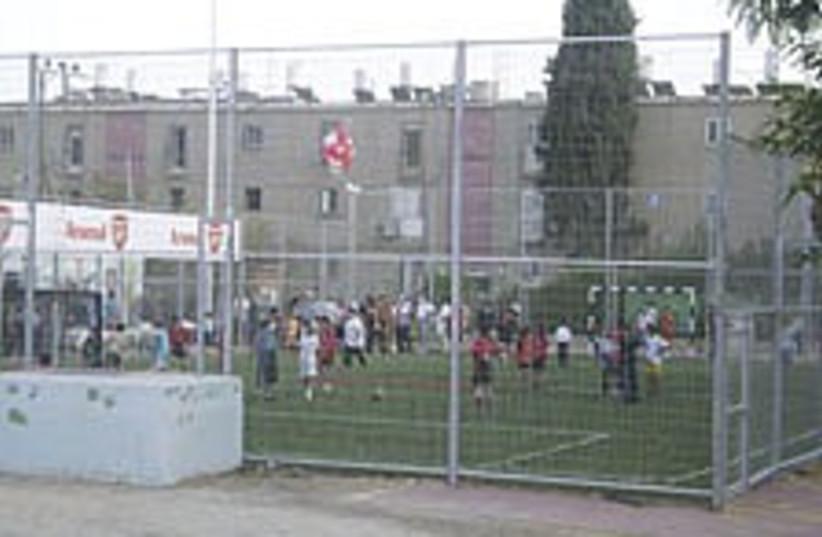 Beersheba soccer field  (photo credit: Adam Van Hart )
