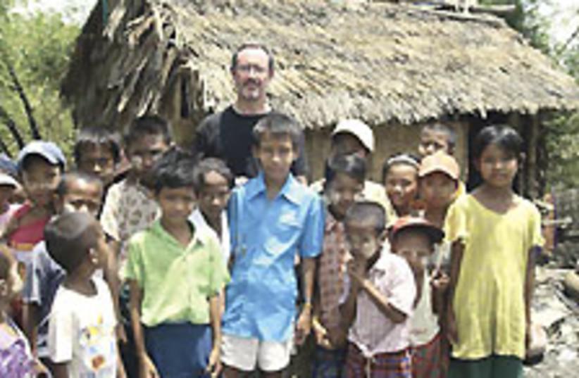 Schneider Myanmar 224.88 (photo credit: Courtesy - B'nai B'rith)