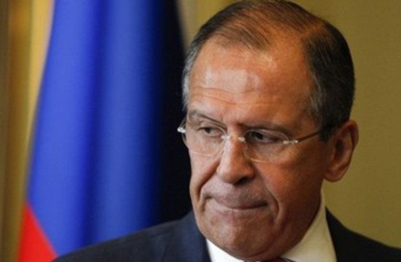 Russian Foreign Minister Sergei Lavrov 370 (photo credit: REUTERS/Sergei Karpukhin)