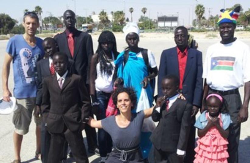 South Sudan refugees370 (photo credit: Courtesy Orit Marom )