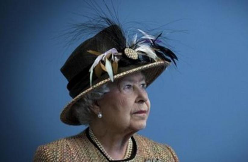 Queen of England (photo credit: Reuters)