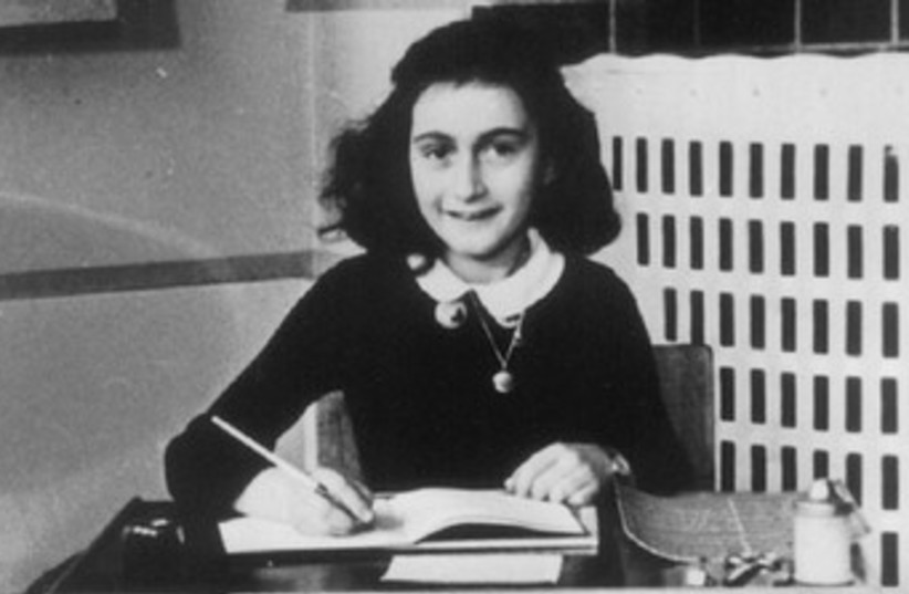 Anne Frank 370 (photo credit: REUTERS/Handout Old)