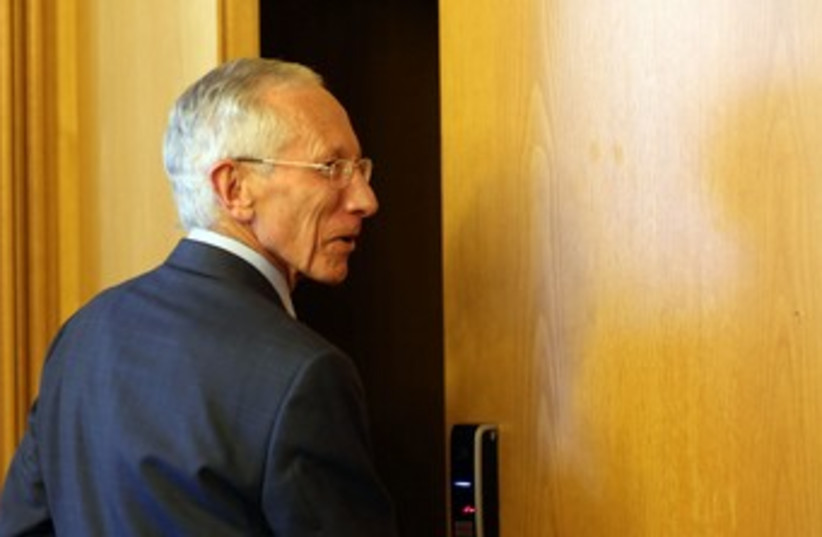 Outgoing BoI Governor Stanley Fischer 370 (photo credit: Marc Israel Sellem/The Jerusalem Post)