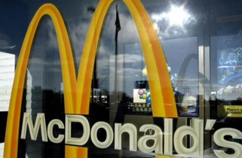 McDonald's Golden Arches370 (photo credit: Reuters)