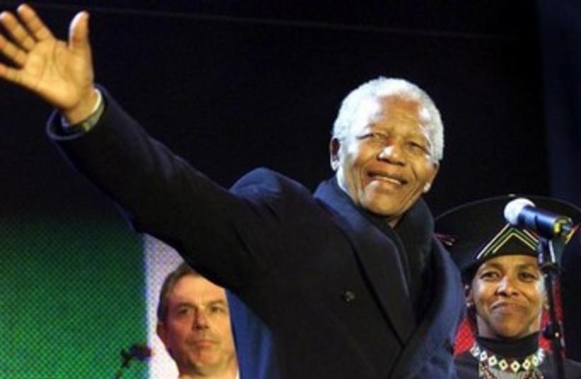 Nelson Mandela (photo credit: REUTERS)