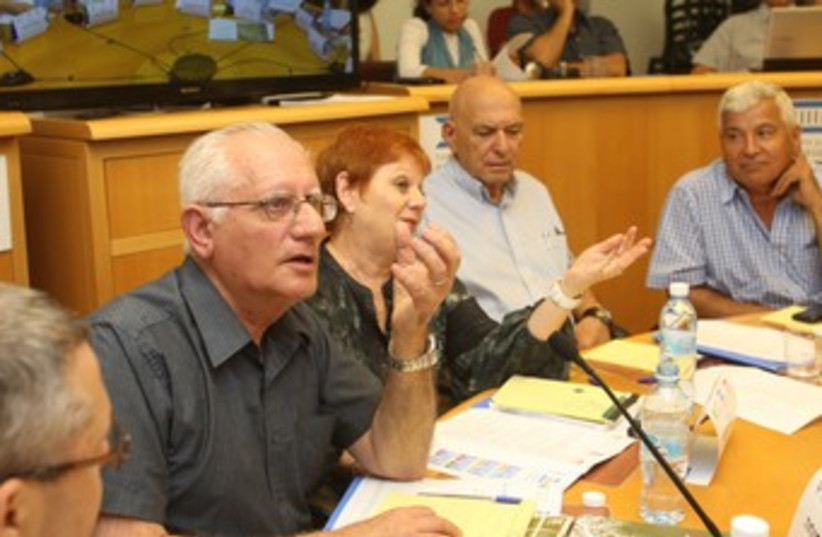 Israel Democracy Institute rountable370 (photo credit: Yossi Zamir)