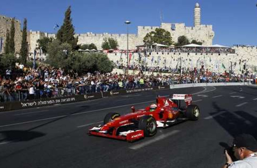 The first-ever two-day Jerusalem Formula Peace Road Show (photo credit: Reuters)