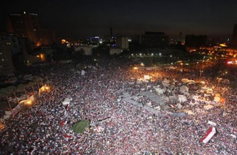 Protesting in Egypt