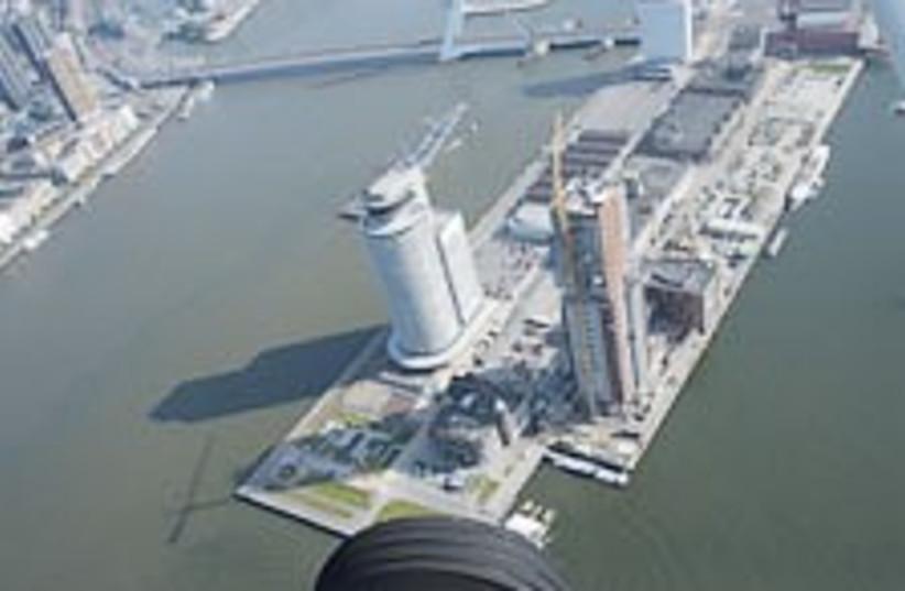 rotterdam port (photo credit: AP)