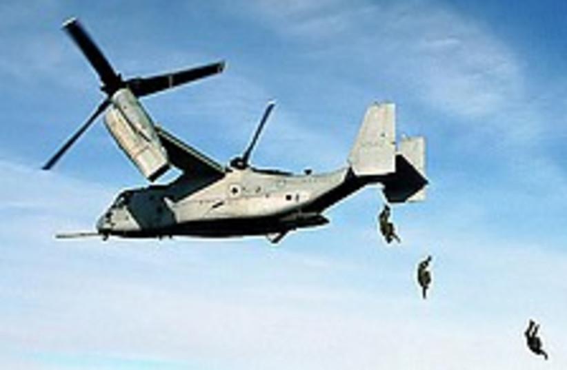 V-22 Osprey 224 88 (photo credit: Courtesy)