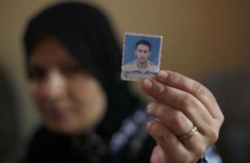 Wael Abu Rida 370 (photo credit: REUTERS/Ibraheem Abu Mustafa)