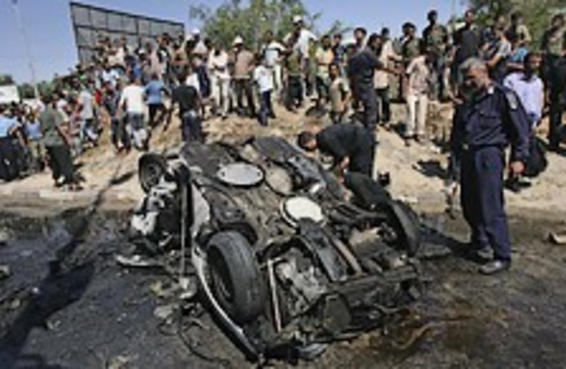 Gaza air strike 224.88 (photo credit: AP)