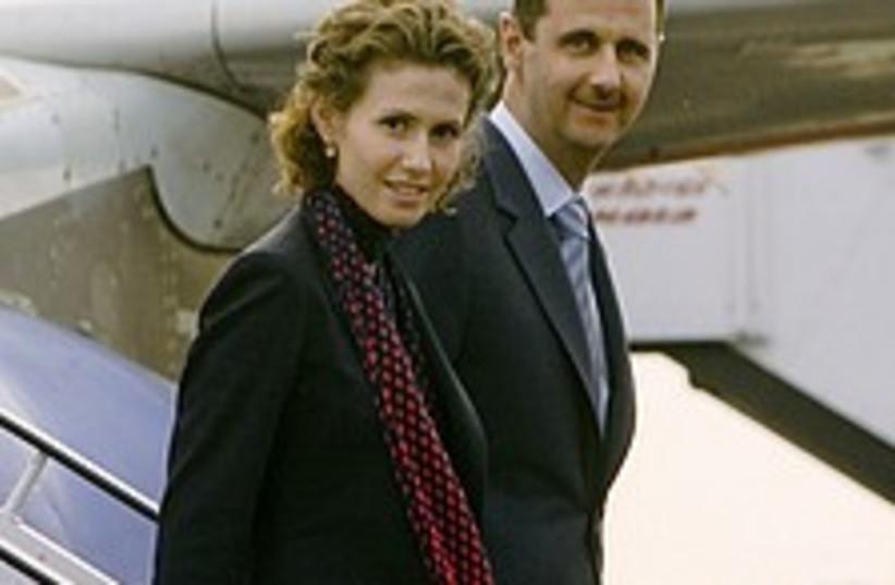 assad wife plane 224.88 (photo credit: AP)