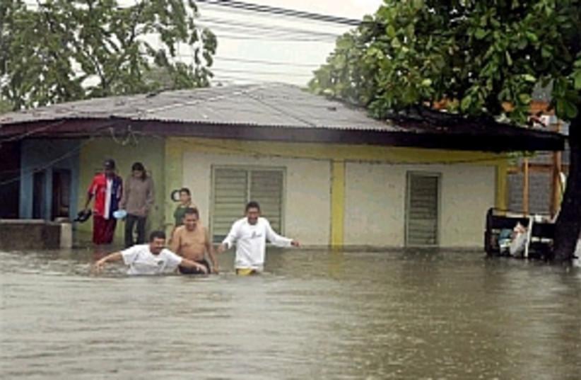 hurricane beta (photo credit: )