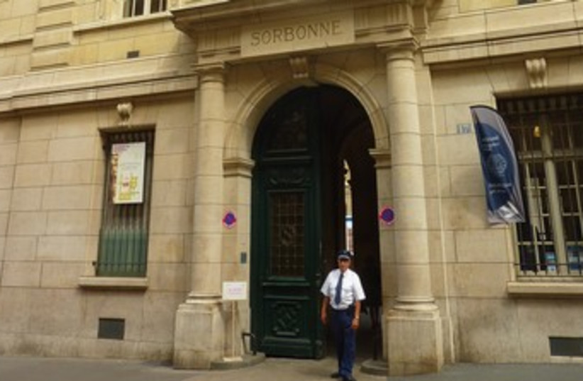 THE SORBONNE in Paris 370 (photo credit: Seth J. Frantzman)