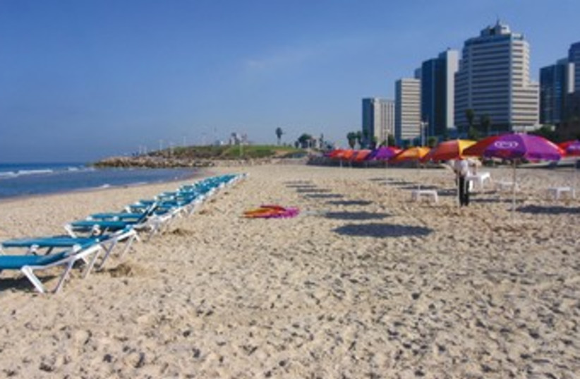 Israel's Blue Flag beaches (photo credit: Courtesy www.go-israel.com)